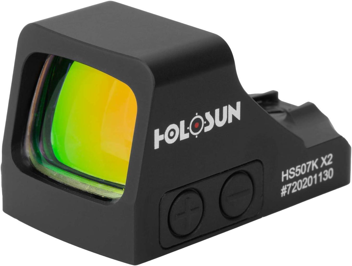 HOLOSUN - HS507K-X2 Classic Multi SALENEW大人気! デポー Sight Dot Red Black Reticle