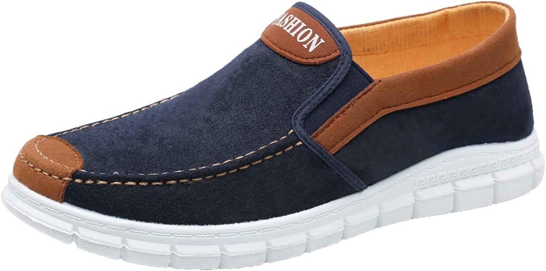 Men's Shoes Flat Soft Sole Lightweight Comfortable Single Shoes Casual Shoes