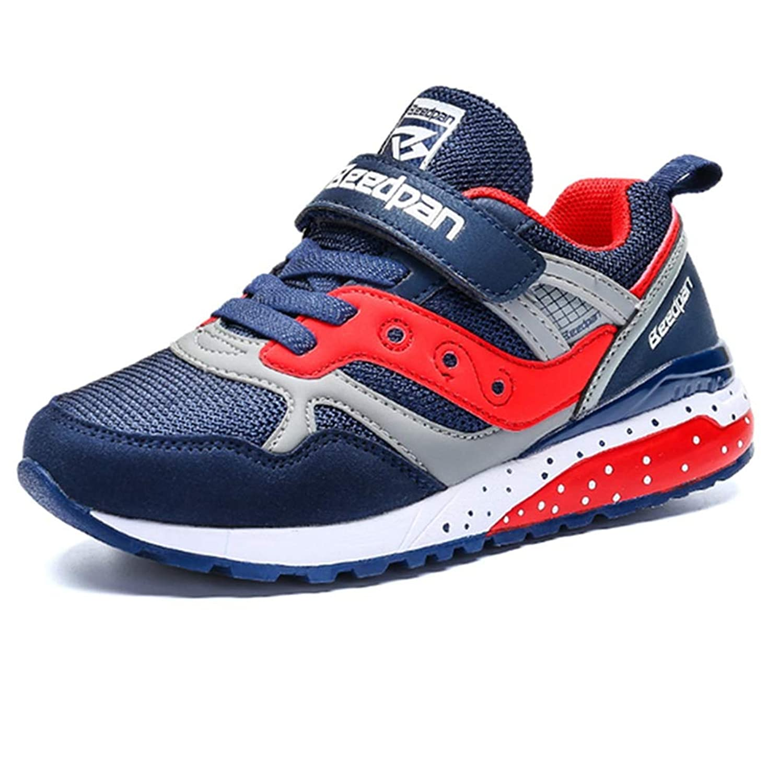 [GLYY] キッズシューズ ジュニア 男の子 女の子 子ども中学生ランニングシューズ 子供靴 スニーカー通学靴 運動靴 ベルクロ 旅行 日常着用