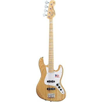 SX ベースギター JBタイプ アッシュボディ FJB75/NA