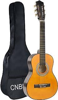 Kid Beginner Guitar Classical Guitar Acoustic Guitar 1/2 Half Size 30 inch Nylon Strings Guitar Starter Kits Boy Girl Guitar