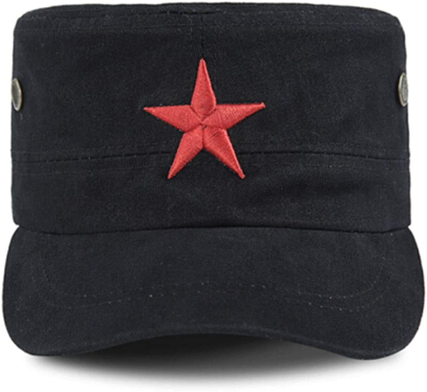 f483bbed037f Haoyushangmao Outdoor Sun Hat, Red Army Pentagram Men's Summer ...