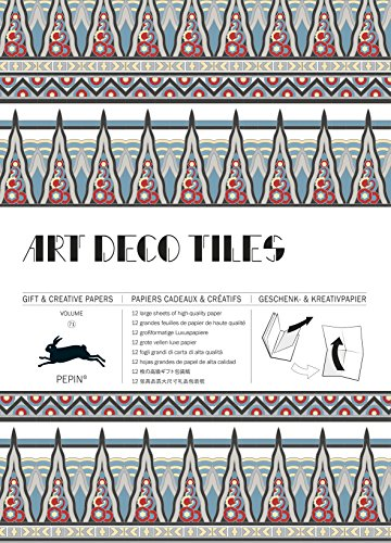 Art Deco Tiles: Gift & Creative Paper Book Vol. 71: Geschenk- und Kreativpapierbuch Vol 71 (Gift & Creative Paper Books)