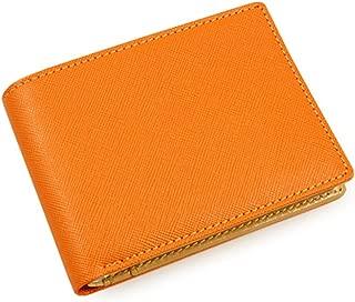 AV Bifold Modern Color PU Leather Wallet Money Clip for Teens