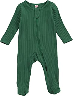 DeHolifer St.Patricks Day Infant Baby Striped Hooded Romper Jumpsuit Boys Girl Long Sleeve Bodysuit Casual Costume Carnival Dress Up Birthday Festival Outfits