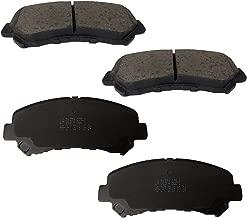 FJSa Ceramic Rear Disc Brake Pad Front Set for Nissan New X-Trail Qashqai,X-Trail T30(2008),Mazda
