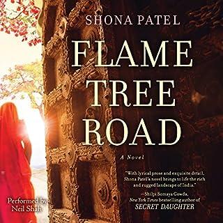 Flame Tree Road audiobook cover art