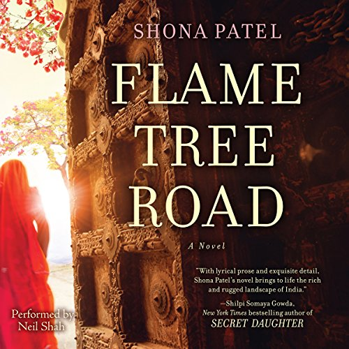 Flame Tree Road audiobook cover art