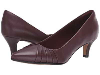Clarks Linvale Crown (Burgundy Leather) Women