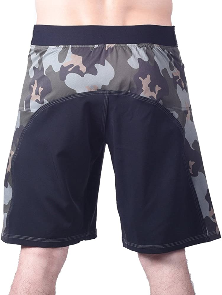 NO VELCRO Closure Blank MMA Shorts Agility 5.0 For Men by EPIC
