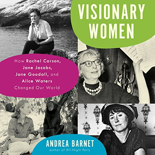 Visionary Women audiobook cover art