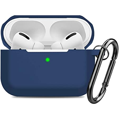 Airpods Pro Case Cover,Doboli Silicone Protective Skin Case for Airpod Pro Navy Blue