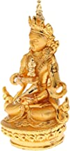 Generic Chinese Buddhist Pray Copper Alloy Buddha Statue for Xmas Home Decor Crafts