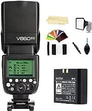 Godox V860II-C E-TTL 2.4G High Speed Sync 1/8000s GN60 Li-ion Battery Camera Flash Speedlite Light Compatible for Canon 1DX 5D Mark III 5D Mark II 6D 7D 60D 50D 40D 30D 650D 600D 550D 500D 450D 400D