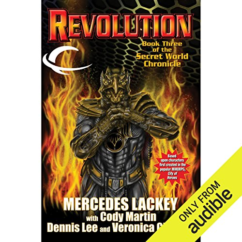 Revolution audiobook cover art