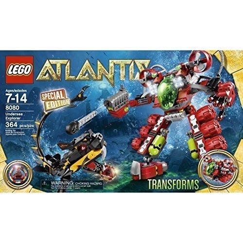 Lego Atlantis 8080 Undersea Explorer - 364 pieces