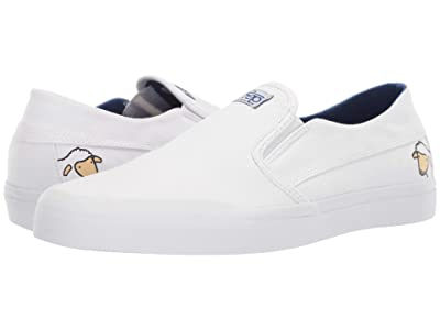 etnies Langston X Sheep (White/Blue) Men