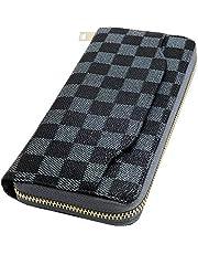 Kstarplus 財布 レディース 長財布 大容量 ブランド レディース 財布 カード 16-21枚収納 取り出しやすい 小銭入れ ラウンドファスナー 人気 プレゼントBOX 付き 1年間有効保証書