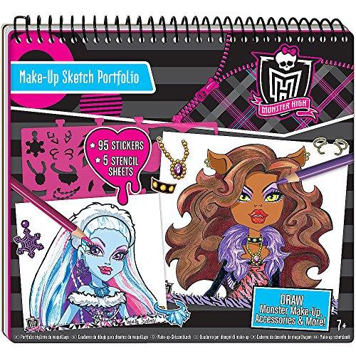 Monster High - 64025 - Kit De Loisirs Créatifs - Portfolio