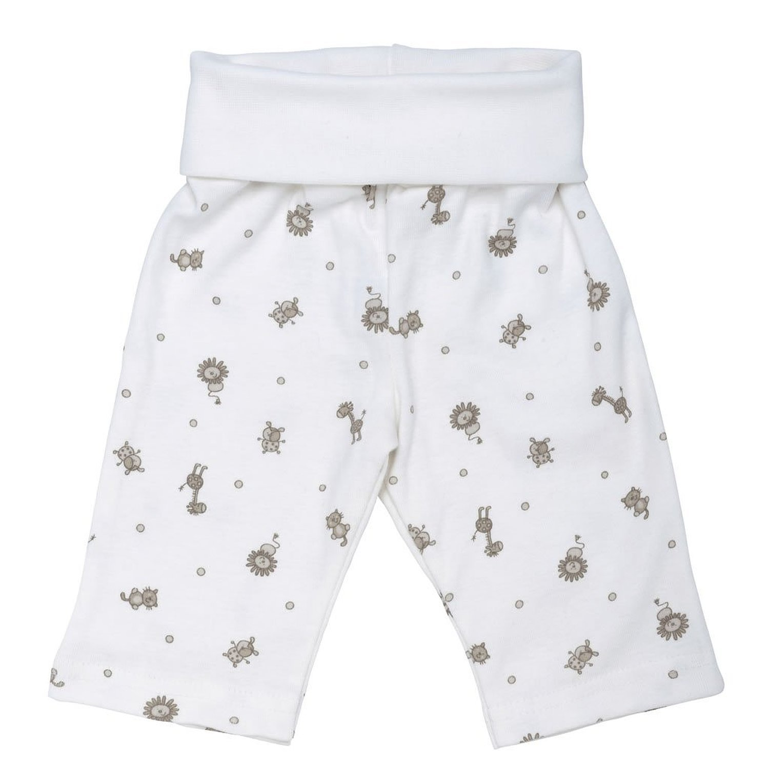 Nature's Nursery Rolled Waist Challenge the lowest price of Japan 3-6M Pants In stock - Print