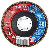 Lit Freud DCX045040N01F Steel Demon Flap Disc 40 Grit, No Hub, 4-1/2