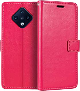 جراب محفظة Infinix Zero 8 X687، جراب قلاب مغناطيسي من الجلد الصناعي الممتاز مع حامل بطاقة ومسند لـ Infinix Zero 8i X687