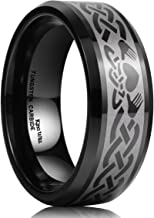 men's irish claddagh wedding ring