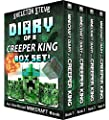 Diary of a Minecraft Creeper King BOX SET - 4 Book Collection 1: Unofficial Minecraft Books for Kids, Teens, & Nerds - Adventure Fan Fiction Diary Series ... Noob Mobs Series Diaries - Bundle Box Sets)