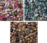 1200 x belle sélection de trois couleurs coordonné Bijoux Perles pour Fabrication Bijoux Starter Kit