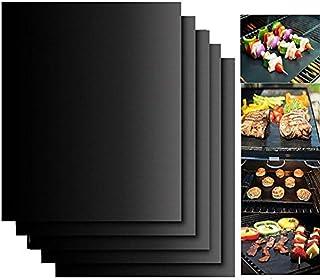ボニマス(VONIMUS) BBQグリルマット 5枚入り バーベキュー コンロ用 bbq網、鉄板用 バーベキュー・クッキング用品 クッキングツール