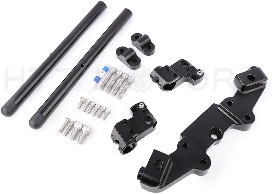 HTTMT HB-KZ900- Courier Max 64% OFF shipping free Handlebar Handle Bar Clip Upper On Triple Clamp