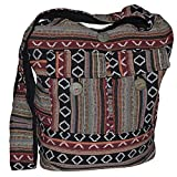 Bolso de hombro, estilo étnico, bohemio, hippie, Goa, indio