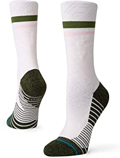 Stance Skulldana Crew Socks in Cream