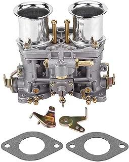 Carb Carburetor, Carb Carburetor Engine with 2 Gasket for Bug Beetle Fiat Porsche WEBER 40 IDF