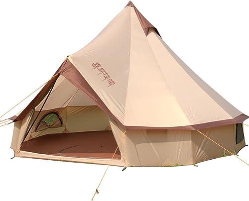 LJSHU 8-10 Tente Imperméable Familyoutdoor Camping Plage Tente Auto Conduite Tente De Camping