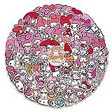 VCHSH 100 Caricatura Linda Maleta Pegatina Maleta computadora portátil teléfono móvil decoración