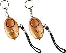 Persoonlijk SOS-noodalarm met led-zaklamp, 140 dB, bescherming tegen ing, diefstal; sleutelhangeralarm voor scholieren, vr...