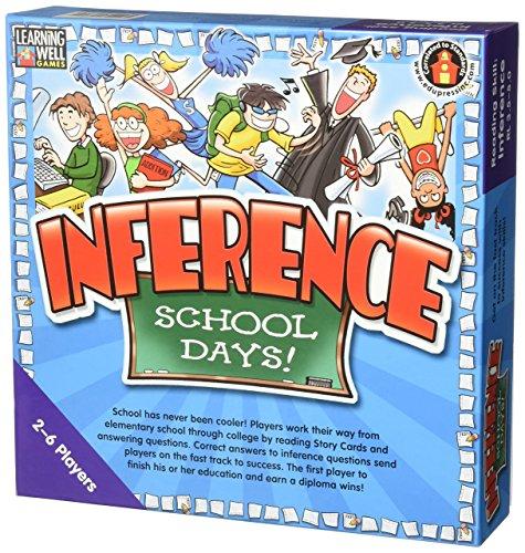 Edupress Inference School Days Game, Blue Level (EP60801)