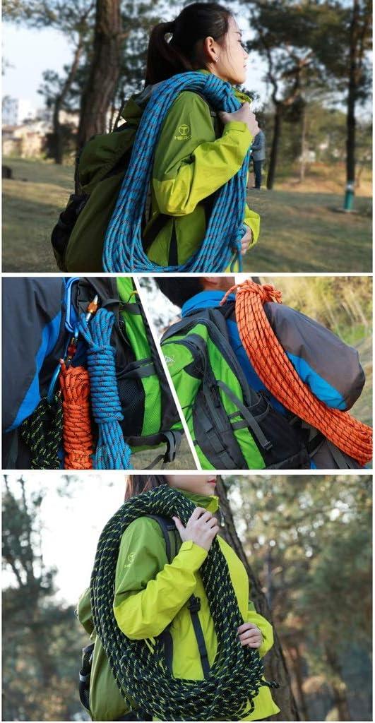 GVNCO Cuerda de Escalada, Cuerda de Rappel de 3 Colores ...