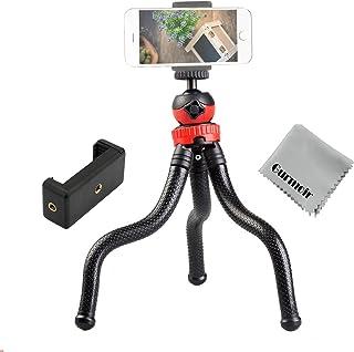 """Gurmoir 12 """"مرنة ترايبود للهاتف المحمول اي فون سلسلة كاميرا رقمية Gopro 7 ، 2in1 حامل ثلاثي القوائم مع حامل الهاتف الخليوي..."""