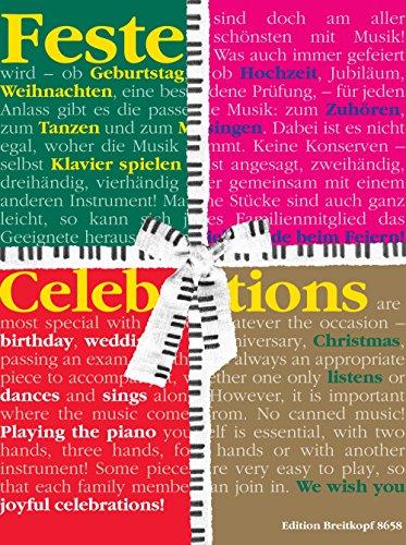 Feste - Klavierstücke für besondere Gelegenheiten / Celebrations - Piano Pieces for Special Occasions (EB 8658)