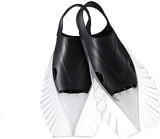 シュノーケリングフィン Light Ankle - 大人とユニセックスのフルフットダイビングフィン用シュノーケリングフィン用ショートスカート (色 : ブラック, サイズ : S)