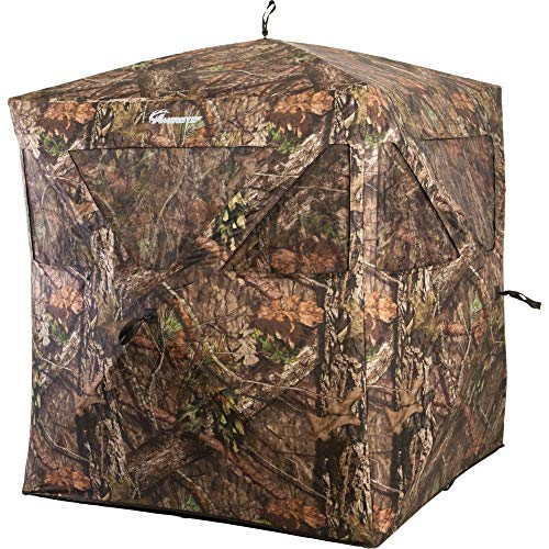 Ameristep Care Taker Ground Blind, Mossy Oak Break Up Country, Model: None