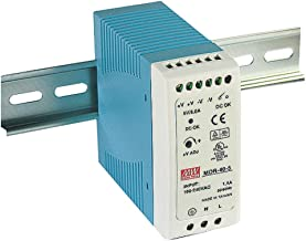 MEAN WELL MDR-40-5 AC to DC DIN-Rail Power Supply 5V 6 Amp 30W