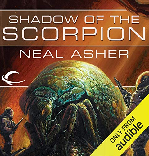 Shadow of the Scorpion Audiobook By Neal Asher cover art