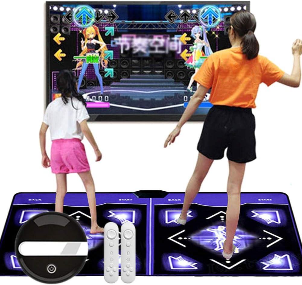 Tanzspiel Partyspiel zum Tanzen Drahtlose Spielmatte Schnurlos Faltbar rutschfest Partyspiel f/ür Geburtstage, NANANA Retro Tanzmatte