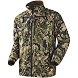 Harkila Q Chaqueta de Lana Optifade Tierra Bosque - Optifade Camuflaje, 36'