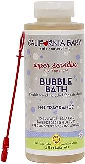 California Baby Super Sensitive Bubble Bath - 13oz