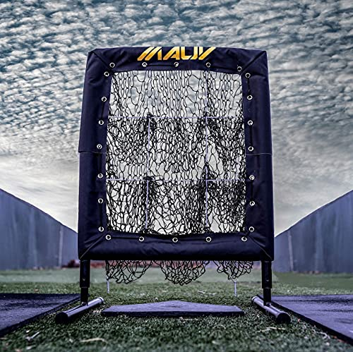 Mauv Perfect Pitch - Baseball Pitching Net with 9 Hole Strike Zone - Practice Target - Softball Throw - Training Equipment