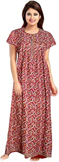 Khushi Print Women's Cotton Nightdress
